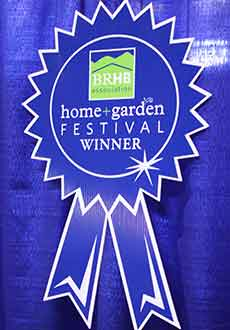 "Serenescapes as the winner of the ""Best in Show"" award at the 2015 Blue Ridge Home Builders Association Home and Garden Show in Charlottesville, Va"