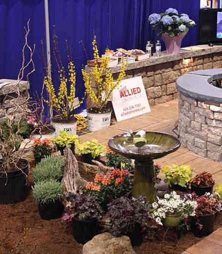 Part of Serenescapes's display at the 2015 Home and Garden Show at John Paul Jones Arena in Charlottesville, Va