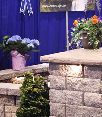 Serenescapes at the 2015 Home and Garden Show