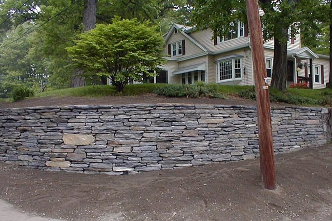 Natural Stone Walls : Pictures of natural rock retaining walls nnature