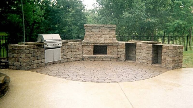 outdoor entertainment areas and hardscapes are the new